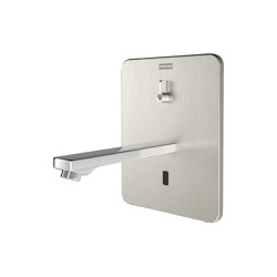F3E-Mix Electronic in-wall mixer with battery operation | Wash basin taps | Franke Water Systems