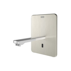 F3E-Therm Electronic thermostatic in-wall mixer with battery operation | Wash basin taps | Franke Water Systems