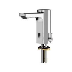 F5E-Mix Electronic pillar mixer for separate power supply | Wash basin taps | Franke Water Systems