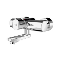F5S-Mix self-closing wall-mounted mixer | Wash basin taps | Franke Water Systems