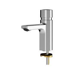 F5S Self-closing pillar tap | Wash basin taps | Franke Water Systems