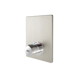 F5S-Mix self-closing in-wall mixer | Shower controls | Franke Water Systems