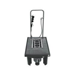 SIRIUS Boot-cleaning unit | Bathroom fixtures | Franke Water Systems
