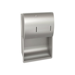 STRATOS Paper towel/soap dispenser combination | Dosificadores de jabón | Franke Water Systems
