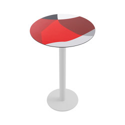 Abstrakt Mona Ø70 Bar Table 2 | Standing tables | Diabla