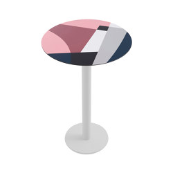 Abstrakt Mona Ø80 Table 2 | Standing tables | Diabla
