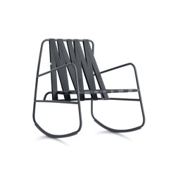 Dozequinze Rocking Chair | Poltrone | Diabla