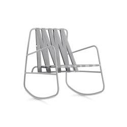 Dozequinze Rocking Chair | Armchairs | Diabla