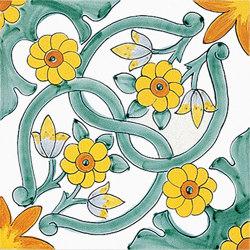 Antichi Decori Ogliastro | Ceramic tiles | Ceramica Francesco De Maio
