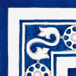Classico Vietri Greca Blu | Ceramic tiles | Ceramica Francesco De Maio