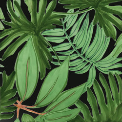 Verde Verticale Tropical Nero | Carrelage céramique | Ceramica Francesco De Maio
