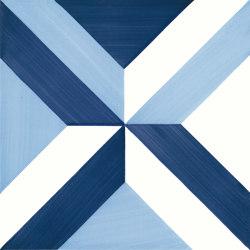 Blu Ponti Decoro Tipo 2 | Ceramic tiles | Ceramica Francesco De Maio