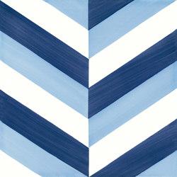 Blu Ponti Decoro Tipo 5 | Carrelage céramique | Ceramica Francesco De Maio