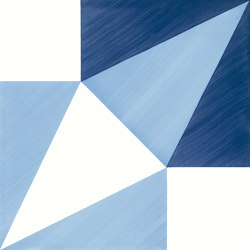 Blu Ponti Decoro Tipo 8 | Ceramic tiles | Ceramica Francesco De Maio