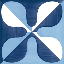Blu Ponti Decoro Tipo 19 | Ceramic tiles | Ceramica Francesco De Maio