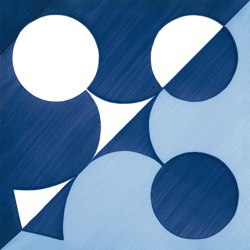 Blu Ponti Decoro Tipo 23 | Carrelage céramique | Ceramica Francesco De Maio