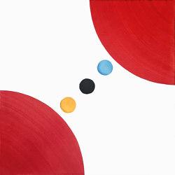 Puntini  DOT 7 Rosso | Ceramic tiles | Ceramica Francesco De Maio