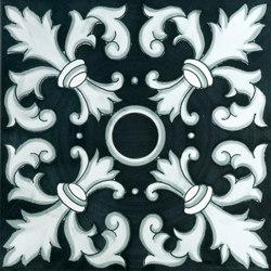 Fiori Scuri Crapolla Nero | Ceramic tiles | Ceramica Francesco De Maio