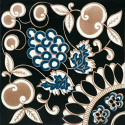 Fiori Scuri Pergolato Nero | Ceramic tiles | Ceramica Francesco De Maio