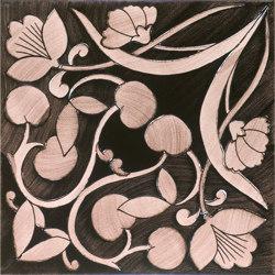 Fiori Scuri Polvica Manganese | Ceramic tiles | Ceramica Francesco De Maio