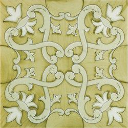 Fiori Scuri Recamone Verde | Ceramic tiles | Ceramica Francesco De Maio