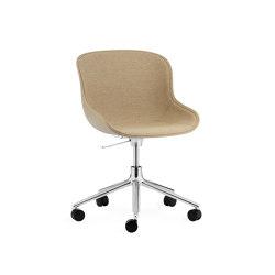 Hyg Chair Swivel Wheels Gaslift | Chairs | Normann Copenhagen