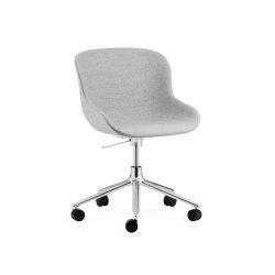 Hyg Chair Swivel Wheels Gaslift | Chairs | Normann Copenhagen