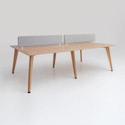 Theodore | Bench Desk System | Desks | Liqui Contracts