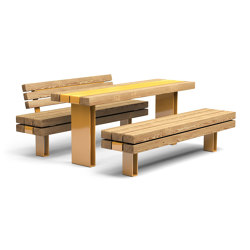 Kong | Tables and benches | Vestre