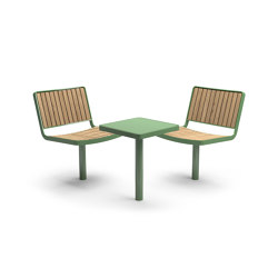 Berlin | Table-seat combinations | Vestre
