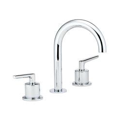 Bondi | Rim mounted 3-hole basin mixer | Grifería para lavabos | THG Paris