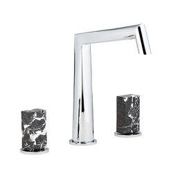 Montaigne | Rim mounted 3-hole basin mixer | Grifería para lavabos | THG Paris