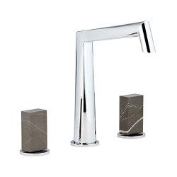 Montaigne | Rim mounted 3-hole basin mixer | Wash basin taps | THG Paris