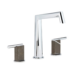 Montaigne | Rim mounted 3-hole basin mixer | Wash basin taps | THG Paris