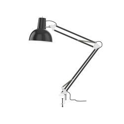Spring Balanced Lamp | clamp | black | Table lights | Midgard Licht