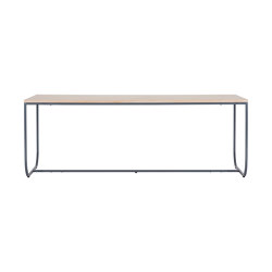 Tati Dining Table 200 without overhang | Dining tables | ASPLUND