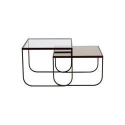 Tati Side Table Square Set | Tables gigognes | ASPLUND