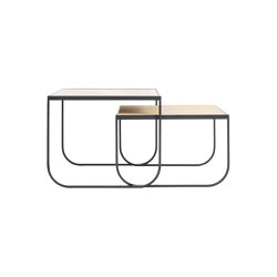 Tati Side Table Square Set | Nesting tables | ASPLUND