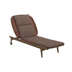Kay Lounger Copper | Sun loungers | Gloster Furniture GmbH