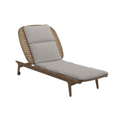 Kay Lounger Harvest | Sun loungers | Gloster Furniture GmbH
