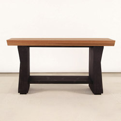 Carvalho Solid Wood Console Table | Mesas consola | Pfeifer Studio