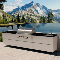 EMPIRE OUTDOOR KITCHEN | Fitted kitchens | Fesfoc