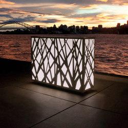 JUNGLE LIGHT PLANTER | Outdoor floor lights | Fesfoc
