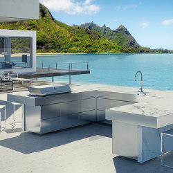 LUXURY U SHAPED KITCHEN ISLAND RAIATEA | Island kitchens | Fesfoc