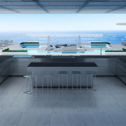 RAIATAEA OUTDOOR KITCHEN ISLAND | Island kitchens | Fesfoc
