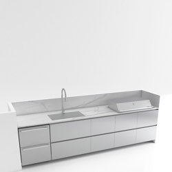 STAINLESS STEEL BAR COUNTER EMPIRE | Fitted kitchens | Fesfoc