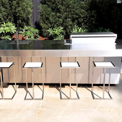 STAINLESS STEEL OUTDOOR KITCHEN ISLAND | Island kitchens | Fesfoc