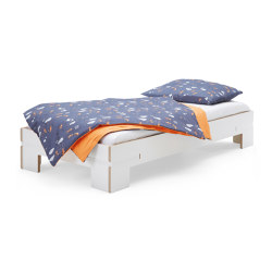 Gurtbett | Bed, toddler bed white | Kids beds | Magazin®