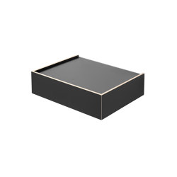 Wandsinn | Drawer, black | Étagères | Magazin®