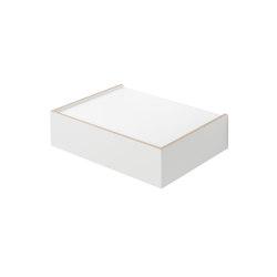 Wandsinn | Drawer, white | Shelving | Magazin®